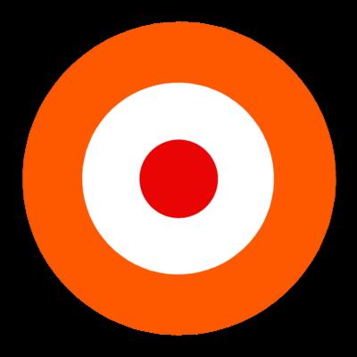 サークルa-オレンジ【Tシャツ】