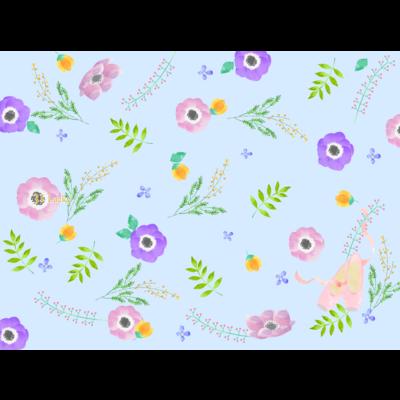 花柄スマホケース