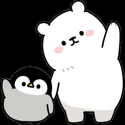 心くばりペンギン / シロクマといっしょver.