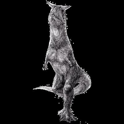 Carunotaurus(ペン画)