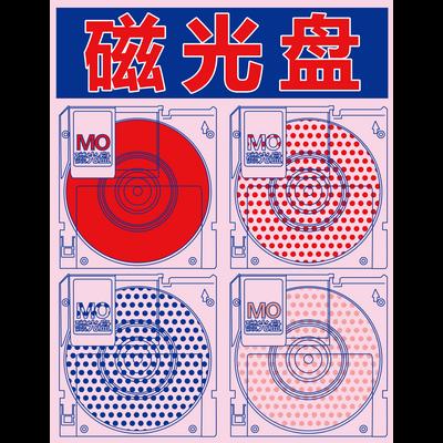 【MO】光磁気ディスク【光磁盘】