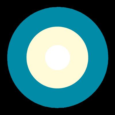 サークルa-ブルーグレー