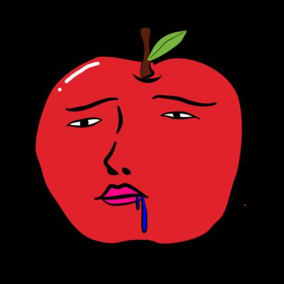 やる気の無いリンゴ