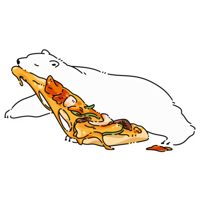 ピザはこび
