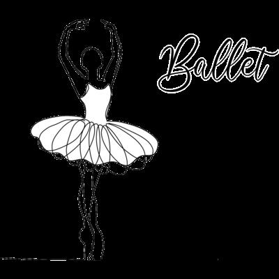 シルエット×バレエ