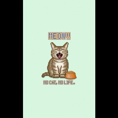 猫(スマホケース)