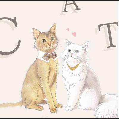 「猫の婚姻届」とお揃いグッズ
