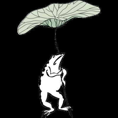 鳥獣戯画カエル1
