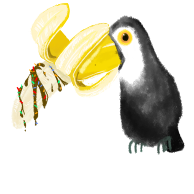 チョコバナナオオハシ