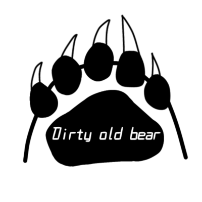 Dirty old bear(足跡)