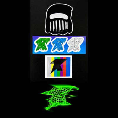 ID STICKER T-Shirt Green