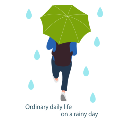 平凡な雨の日 (グリーンVr)