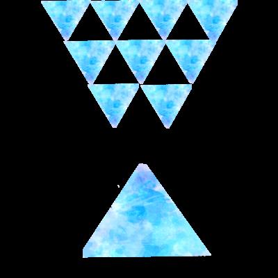 水彩トライアングルシリーズ