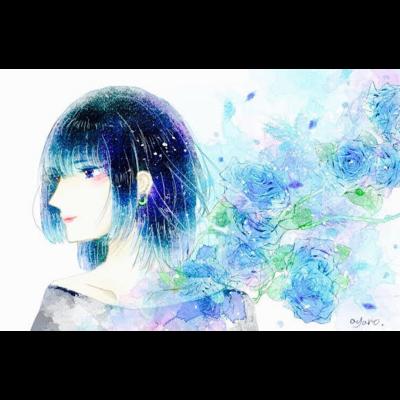 水彩女の子シリーズ
