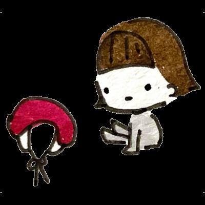 ちんとおすし帽子シリーズ
