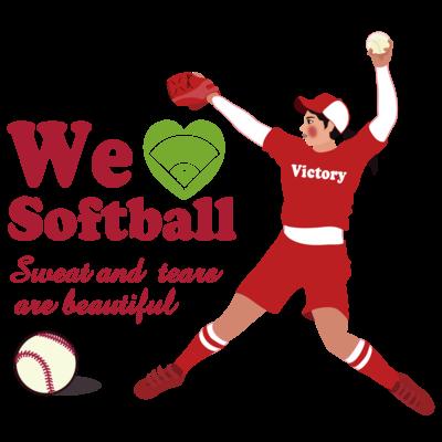 we love Softball Victory