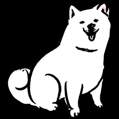 柴犬 白柴 バッグ【せいこせんせい】