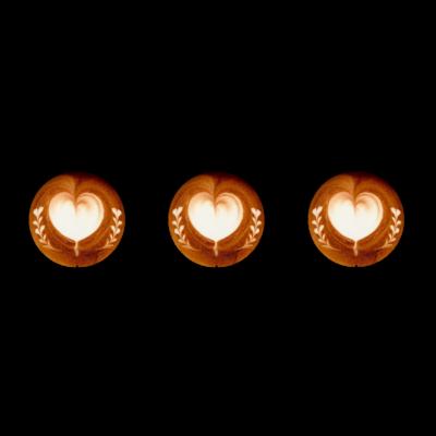 Lady's sweet coffee