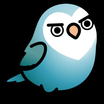 Chubby Bird ちょっと生意気なコザクラインコ