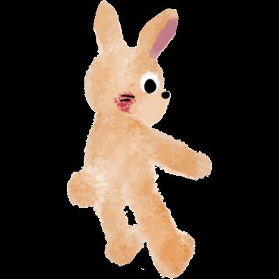 甘えんぼウサギ【ⓒ 一ノ瀬彩】