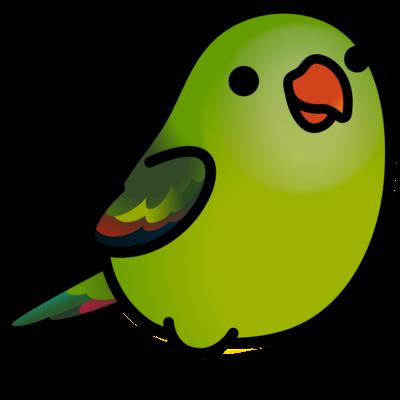Chubby Bird オグロインコ