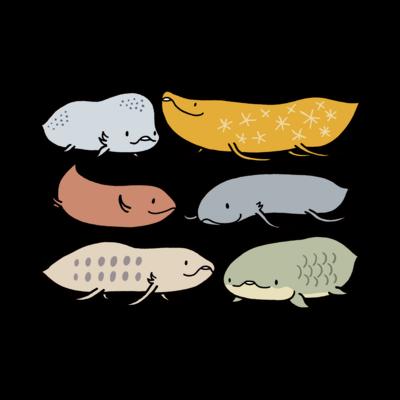 魚、水生無脊椎動物ほか