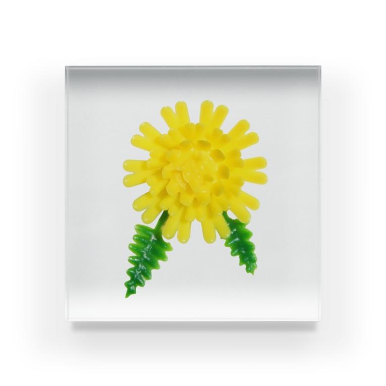 Pop-Hanaのお料理の脇役 Acrylic Block