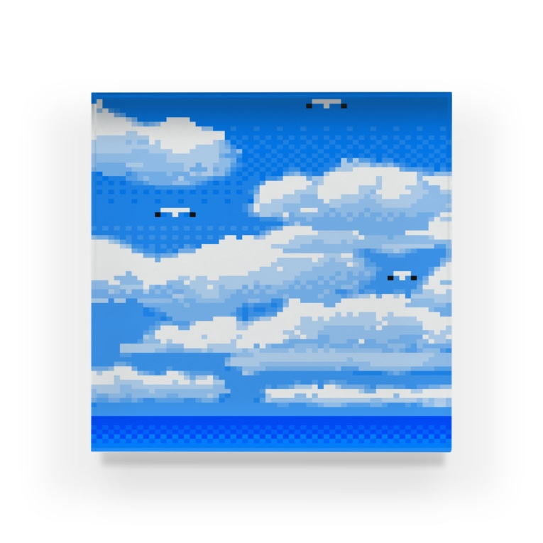 夏のどんぶり(ドンブリ) ブラザーズ【ドンブラ】の海と空 Acrylic Block