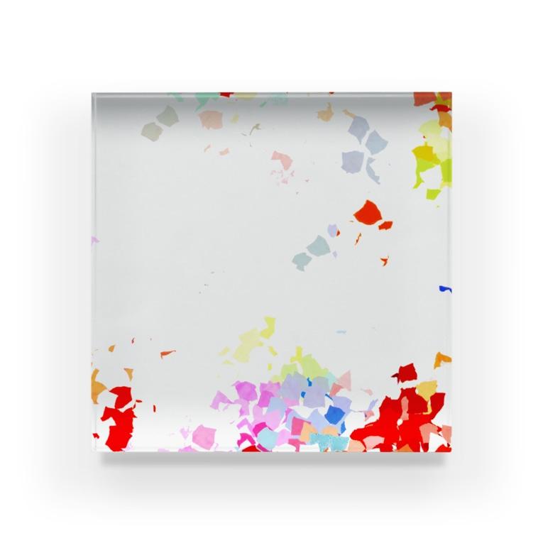 和の色彩 -wa_no_iroiro-のShine Acrylic Block