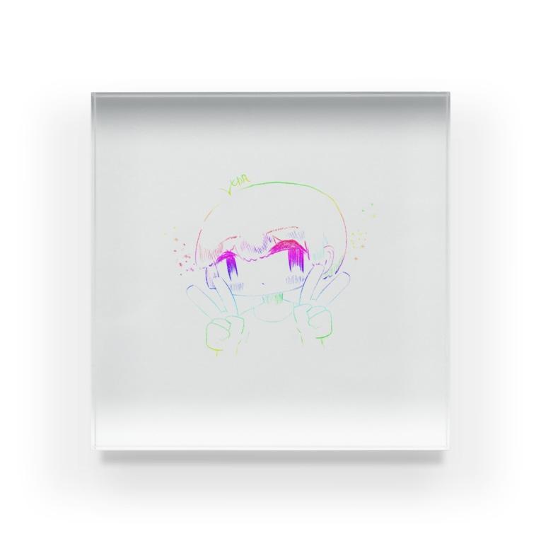 なないろLab.のレインボーガール4 Acrylic Block