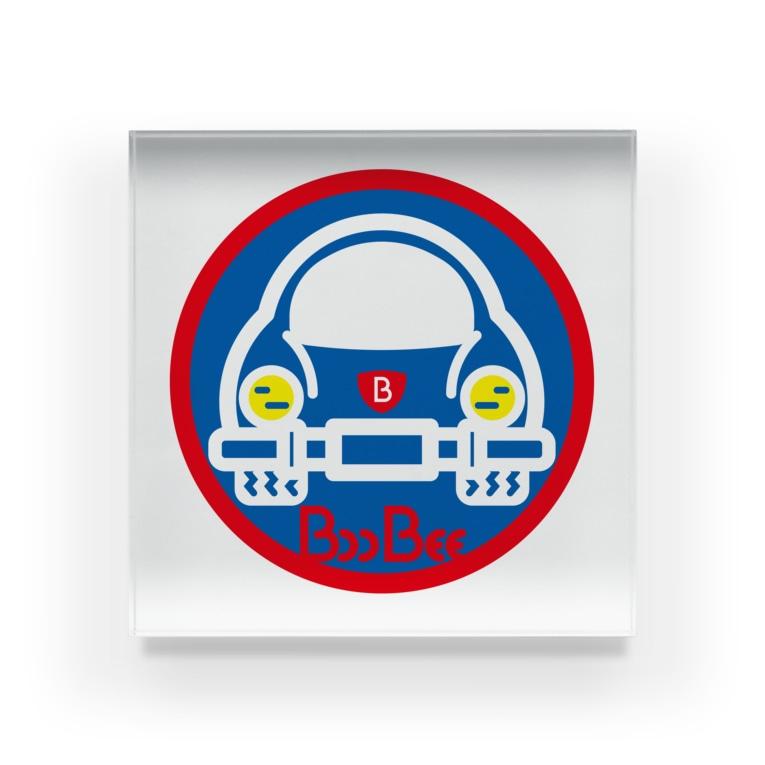 原田専門家のパ紋No.3403 BooBee  Acrylic Block