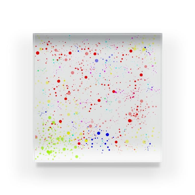 gjdfの点 Acrylic Block