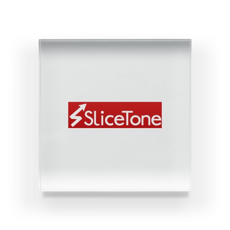 Slicetone OfficialのSlicetone Red Acrylic Block