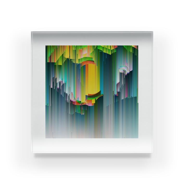 ❔のcolor Acrylic Block