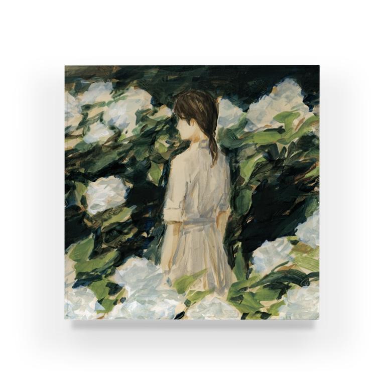 agoeraの移り気な白 Acrylic Block