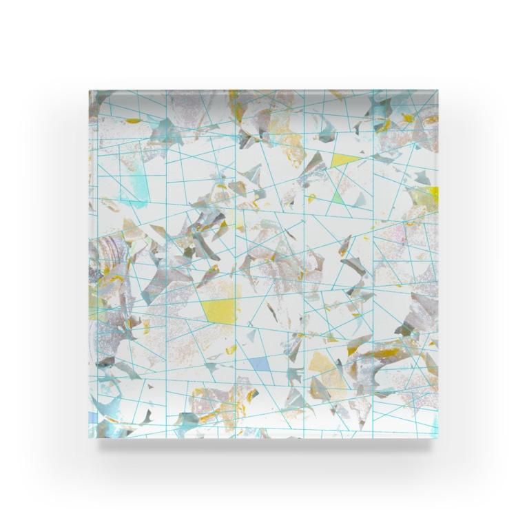 mimesis_imのシーグラス Acrylic Block