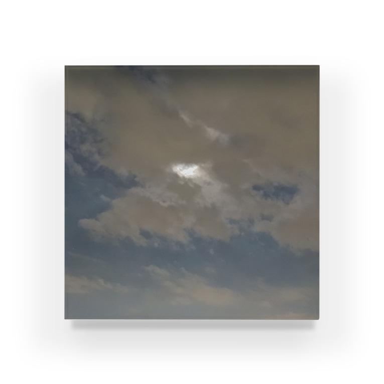 夜の青空の夜の青空0096 Acrylic Block