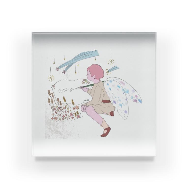 maichogoriの乙女座 Acrylic Block