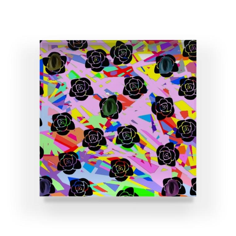 maple_888の多角的擁護 Acrylic Block