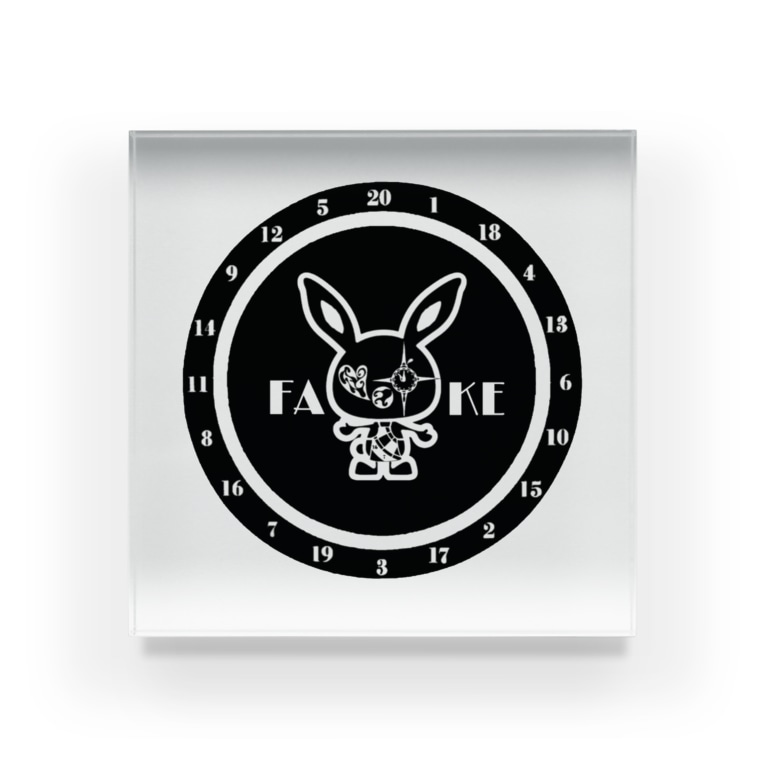 CAT&DARTS Fakeのファビット君⑦ Acrylic Block
