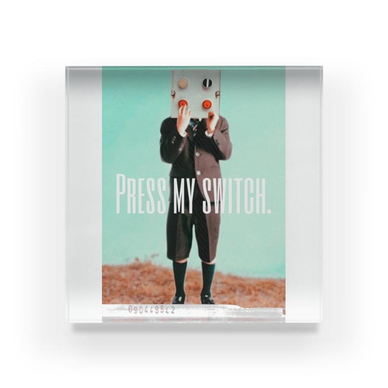 OWAYON ∞ (オワヨン インフィニティ)の【PRESS MY SWICH】 Acrylic Block
