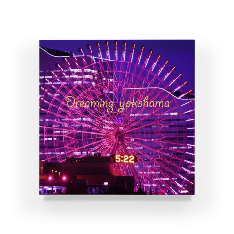 photo-kiokuの横浜夜景4 Acrylic Block