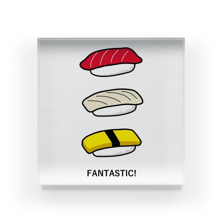 photo-kiokuの寿司 Acrylic Block