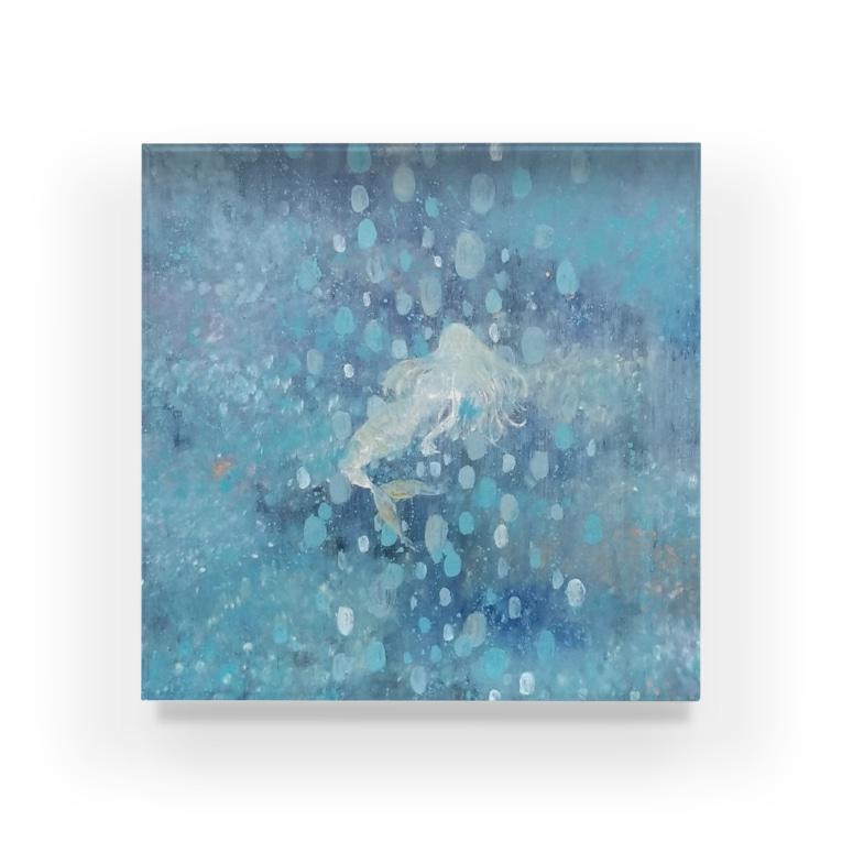 shopping_blueの融沈 Acrylic Block