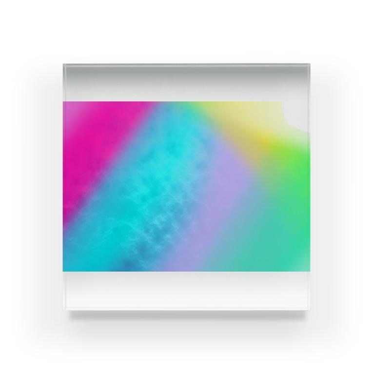 rune_xxのプリズム Acrylic Block