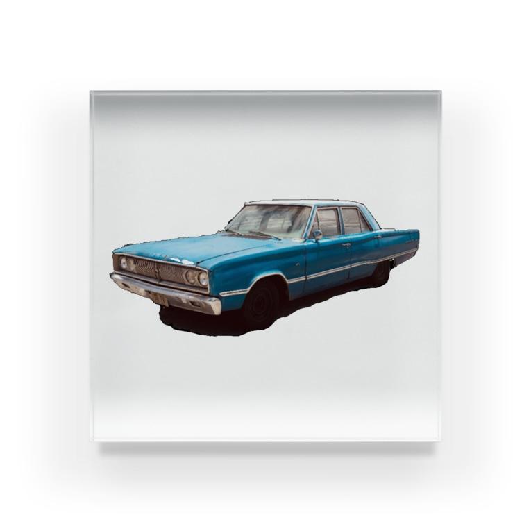 すしめし君のアメリカン車 Acrylic Block