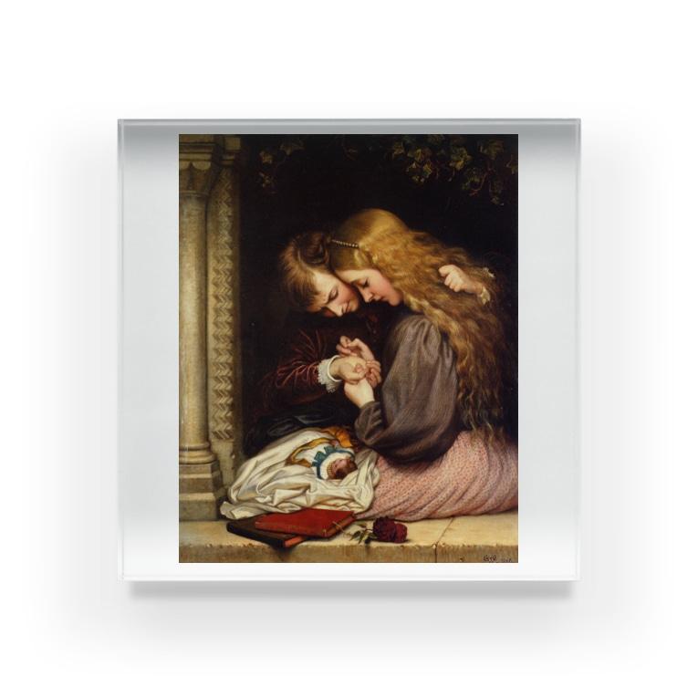世界の絵画アートグッズのチャールズ・ウェスト・コープ 《とげ》 Acrylic Block