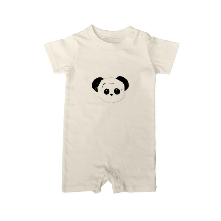 KanAのパンダ Baby rompers