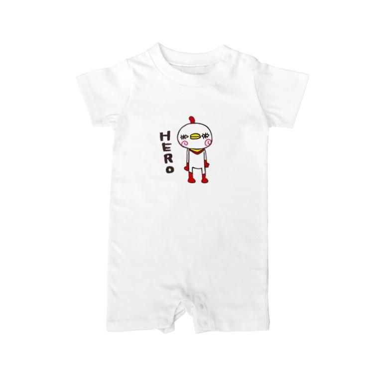 e.spoonのHERO Baby rompers