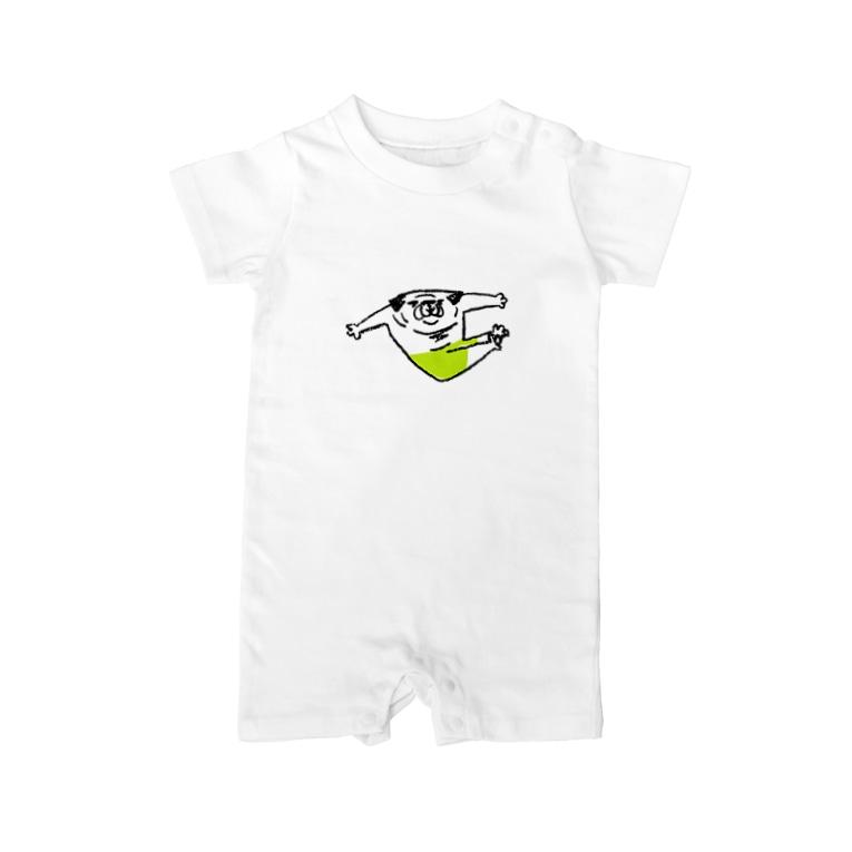 hanakaのぱぐぱぐ組体操(プログラムNo.5V字バランス) Baby rompers